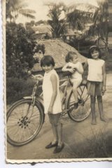 Passeio de bicicletas das manas Charones